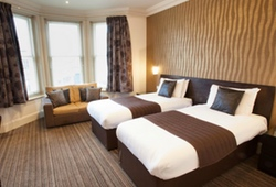 3* Hotel Bedroom Bournemouth