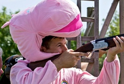 Clay Pigeon Shooting Fancy Dress