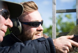 Clay Pigeon Shooting under guidance of an instructor