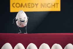 Comedy Club Eggs
