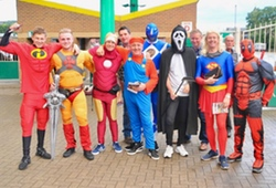 Fancy Dress Stags Owlerton Stadium Sheffield
