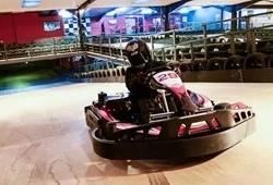 Lonely indoor karter