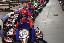 Stag Party Indoor Karting Fancy Dress