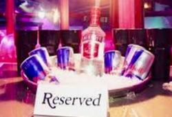 Pryzm Nightclub Booth Reserved