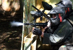 Paintball Gun mid shot