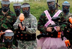 Stag Party ready to play paintball