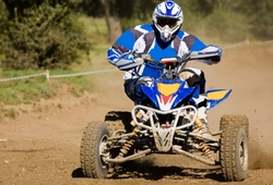 Quad biker