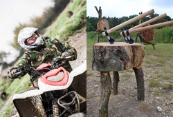 Quad Biking & Axe Throwing in Bristol