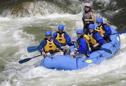 White Water Rafting Group in Chester