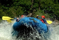 White Water Rafting Stag Group
